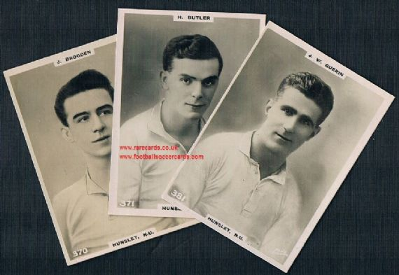 1921 Hunslet FC rugby league NU 3 Pinnace GUM CARD SIZE